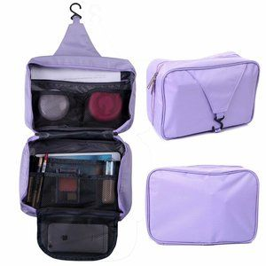 Personal Travel Shower Organizer Hanging Toiletry